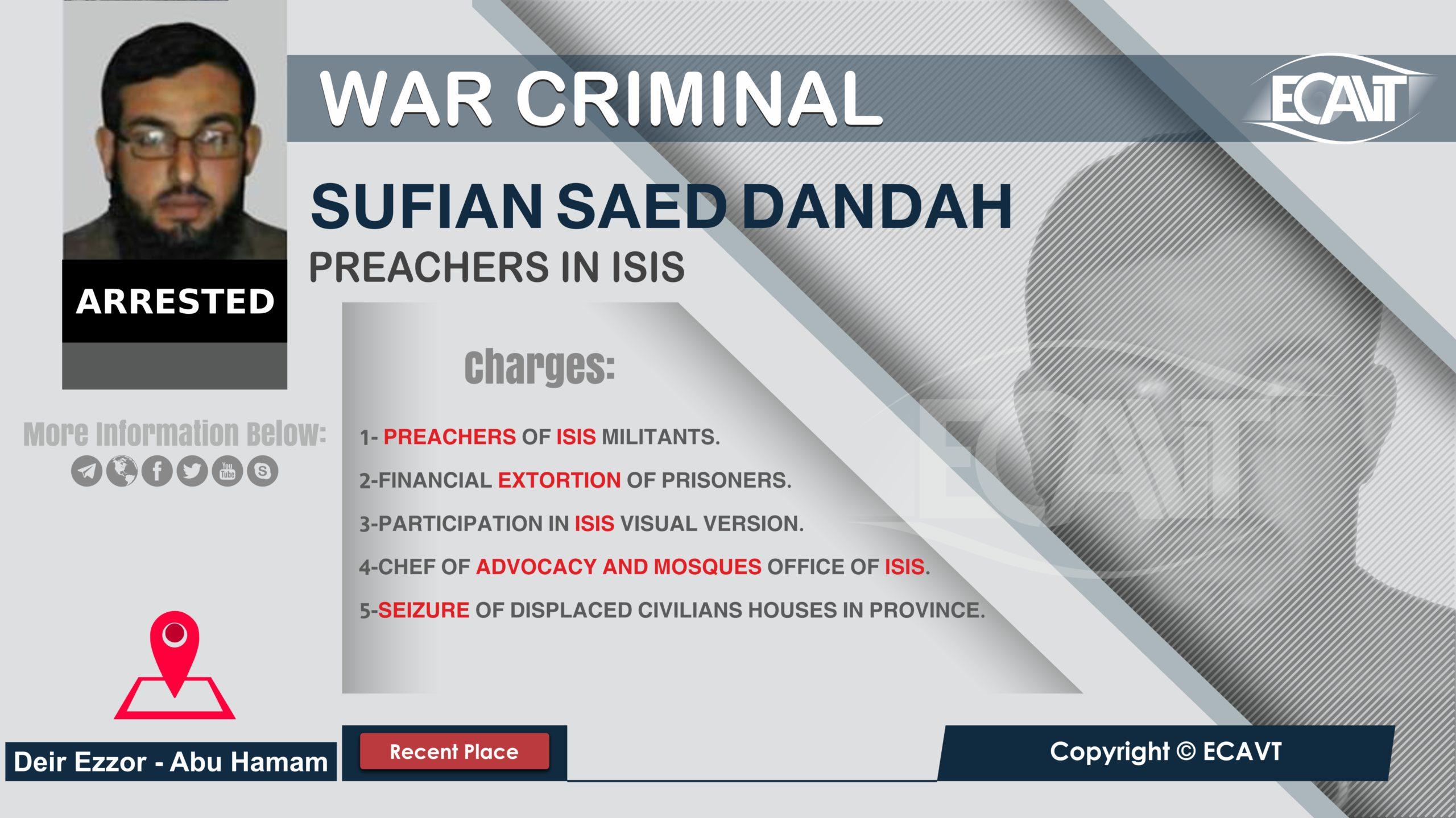 Sufyan Syed Al-Dandah
